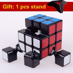 Shengshou 3x3x3 magic speed cube pvc adesivo blocco di puzzle cubo magico professionale learning & educational classic giocattoli cubo