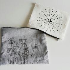 Flower/stars handbag