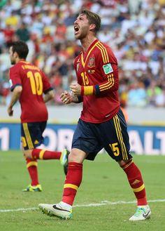 Sergio Ramos - Nigeria v Spain: Group B - FIFA Confederations Cup Brazil 2013