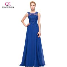 Elegant Long Evening Dresses Purple Red White Chiffon $75.08 => Save up to 60% and Free Shipping => Order Now! #fashion #woman #shop #diy www.weddress.net/...