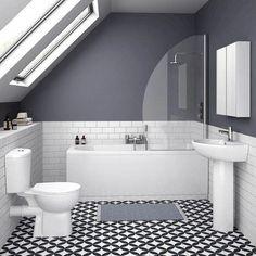 On a budget? Small Bathroom Renovations - KUKUN - small bathroom tiles [simple decoration ideas, interior design, home design, decoration, decoration - Small Bathroom Tiles, Small Bathroom Renovations, Loft Bathroom, Ensuite Bathrooms, Bathroom Colors, Bathroom Flooring, Bathroom Interior, Master Bathroom, Modern Bathrooms
