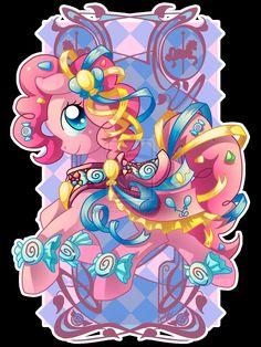 Pinkie Pie Carousal Horse