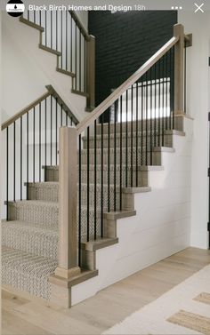 House Stairs, Carpet Stairs, Modern Spaces, Custom Homes, Future House, Master Bath, House Plans, Living Spaces, Woodworking