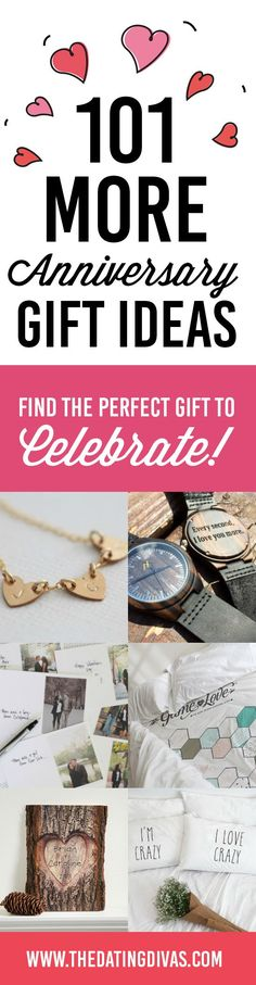 Over 100 anniversary gift ideas for HER and for HIM- such sweet, romantic gifts for husband or wife!
