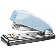 Grapadora Petrus Fondant blue metálica de oficina. Edición Retro modelo 226