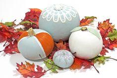 Laura Ashley Blog: DIY Painted Pumpkins