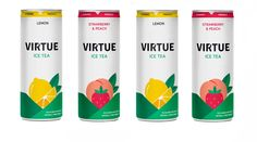 'We've created the ultimate ice tea': Virtue founder forecasts mass appeal Iced Tea Brands, Juice 2, Coconut Water, Vitamins, Strawberry, Lemon, Peach, Canning, Bottle