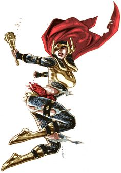 Big Barda by ~dichiara on deviantART