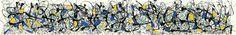 Summertime by Jackson Pollock - Canvas, Wood, Acrylic, Aluminium - ArtToCanvas
