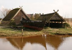 Viking Boathouses.