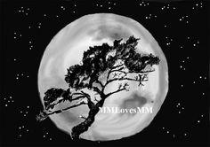 Windswept Moon