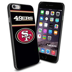 """San Francisco 49ers iPhone 6 4.7"""" Case Cover Protector for iPhone 6 TPU Rubber Case SHUMMA http://www.amazon.com/dp/B00T5KSKG2/ref=cm_sw_r_pi_dp_9L7lvb193NSA9"""