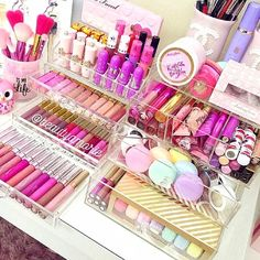 An Amazing #makeup collection for lovers of ALL Things #Beauty.                                                                                                                                                     More Nail Design, Nail Art, Nail Salon, Irvine, Newport Beach