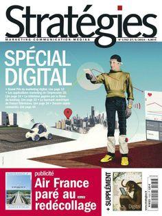 Couverture de Stratégies - Spécial Digital