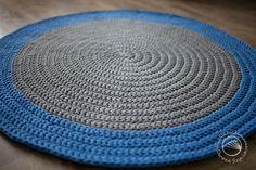 Dywan robiony na szydełku | Crochet rug