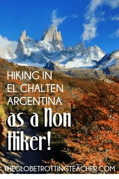 Hiking in Patagonia as a non-hiker can be a bit intimidating! El Chalten, Argentina's trekking capital, offers manageable and rewarding day hikes. Visit Argentina, Argentina Travel, Travel Guides, Travel Tips, Travel Destinations, Patagonia Hiking, Argentina Culture, Equador, South America Travel