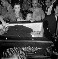 Velório do presidente Getúlio Vargas, Rio Jean Manzon, circa 1954