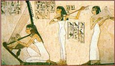 In Old and Middle Kingdom tombs inscriptions of songs can be found, hymns sung to the accompaniment of a harp. These Harpers' songs praised the dead and death, keeping the name of the deceased alive by repeating it: