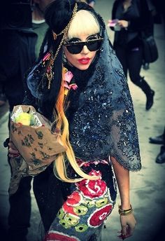 :] I love it when she dresses like a homeless lady.