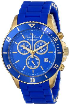 Lucien Piccard Women's LP-93609-YG-33 Mocassino Analog Display Swiss Quartz Blue Watch *** Read more at the image link.