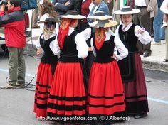 trajes de gallega