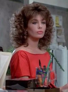 Kelly LeBrock, The Woman in Red.