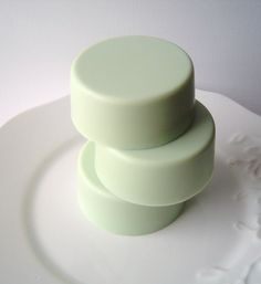 Green Apple Explosion Round Bar Soap Goat's Milk