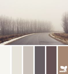 50 shades of GREIGE: gray & beige interior design Wohnideen Fall Color Palette, Colour Pallette, Colour Schemes, Color Combos, House Color Schemes, Color Composition, Design Seeds, Winter Colors, Warm Colors