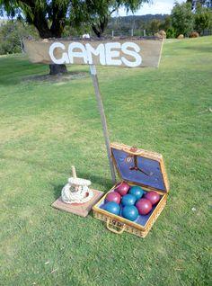 Hire our vintage games.  www.capeoflove.com