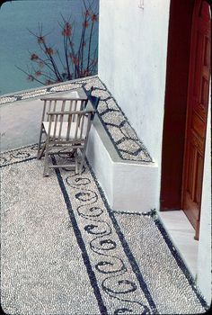 Pebble mosaic, Lindos by jmlwinder, via Flickr