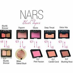NARS is my favorite makeup brand, but I gotta cut back. Nars dupes
