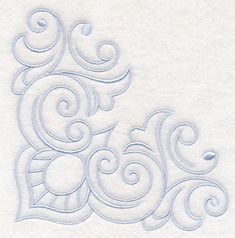 Machine Embroidery Designs at Embroidery Library! - New This Week Hand Embroidery Patterns, Beaded Embroidery, Machine Embroidery Designs, Embroidery Stitches, Quilt Patterns, Carving Designs, Stencil Designs, Stained Glass Patterns, Corner Designs