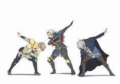 Odin, Leo and Zero