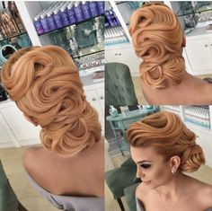 Read information on diy bridal hair Vintage Hairstyles Tutorial, Natural Hair Styles, Short Hair Styles, Natural Hair Transitioning, Wedding Hair Inspiration, Pin Up Hair, Pinterest Hair, The Great Gatsby, Bride Hairstyles