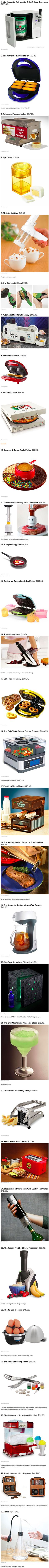 We have rounded up some cool and creative gadgets that will make your kitchen geekier.