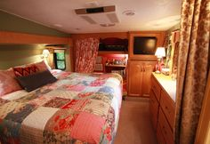 Nice 80+ Interior Ideas for Your RV That Will Make Your Road Trips Awesome https://decoratio.co/2017/03/80-interior-ideas-rv-will-make-road-trips-awesome/ Do you love to go camping?  Plan on taking the RV for a spin this summer? Then you'll need these super smart RV hacks to make your trip even better. We've found lots clever ways to organize and keep things while you're on the road. Well, what are you waiting for? Read our tips, gas up your ride, and hit the open road!