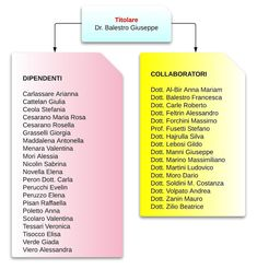 Studio Dentistico Balestro: Organigramma dello SDB