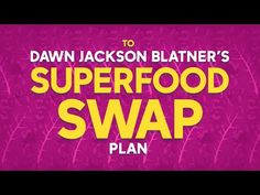 Eat healthy this 2016 with Dawn Jackson Blatner's Superfood Swap Plan!  Read more about her plan: abc.tv/1Riy1bB