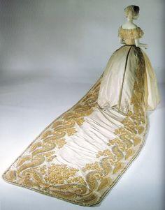 Court Dress Victorian 1850 - 70, MET
