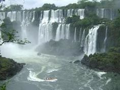 Top 10 Biggest Waterfalls In The World Mother Earth, Mother Nature, Phi Phi Thailand, Iguazu Waterfalls, Ushuaia, Science Nature, Niagara Falls, Places To Go, Cruise