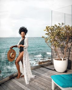 Image may contain: 1 person Black Girl Magic, Black Girls, Afro, Brown Skin Girls, Vacation Outfits, Travel Outfits, Beautiful Black Women, Summer Girls, Tropical