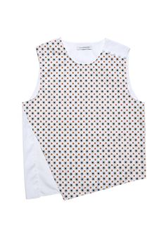 J.W. Anderson floral printed cotton top