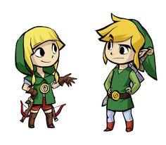-- The Legend Of Zelda: The Wind Waker/Hyrule Warriors