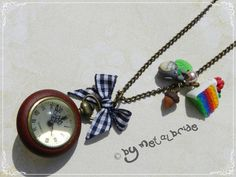 Totoro and Rainbow Cake Watch Commission by oOMetalbrideOo.deviantart.com on @deviantART