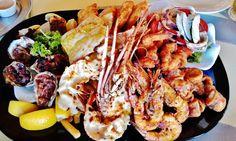 Seafood Platter, YUM!