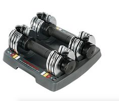 12.5 lb Weights Adjustable Weight Workout Exercise Fitness Home Gym Dumbbell Set #WeiderPower