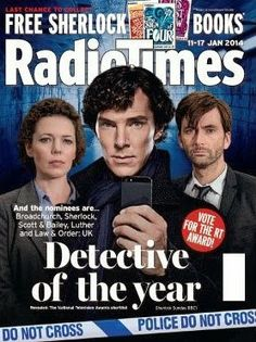 David Tennant On The Cover Of The New Radio Times
