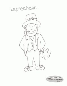 irish people coloring pages - photo#8
