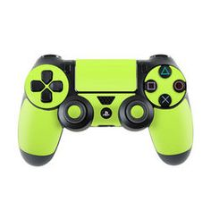 Sony PS4 Controller Skin - Solid State Lime