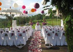 A wedding in Bali.